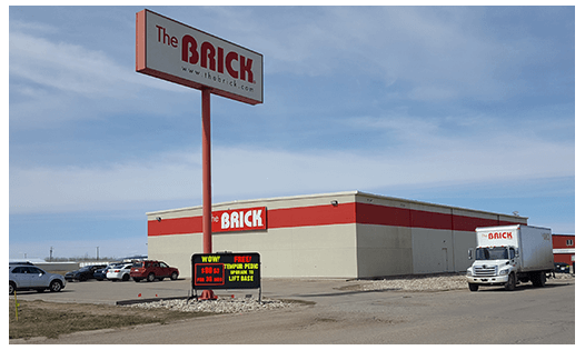 The Brick  Moose Jaw Location