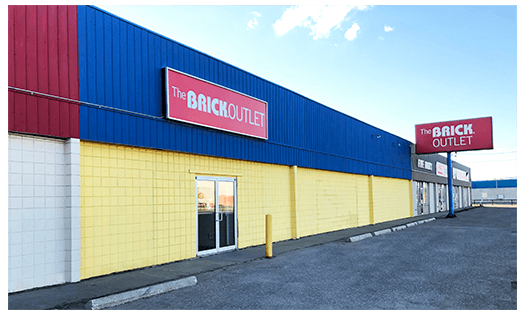 The Brick  Regina Brick Outlet Location