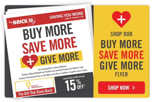 Shop Our By More Save More Give More Flyer