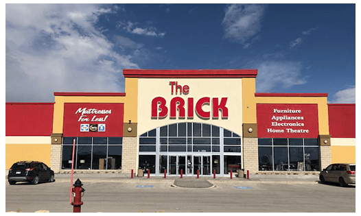 The Brick  Winnipeg South Location