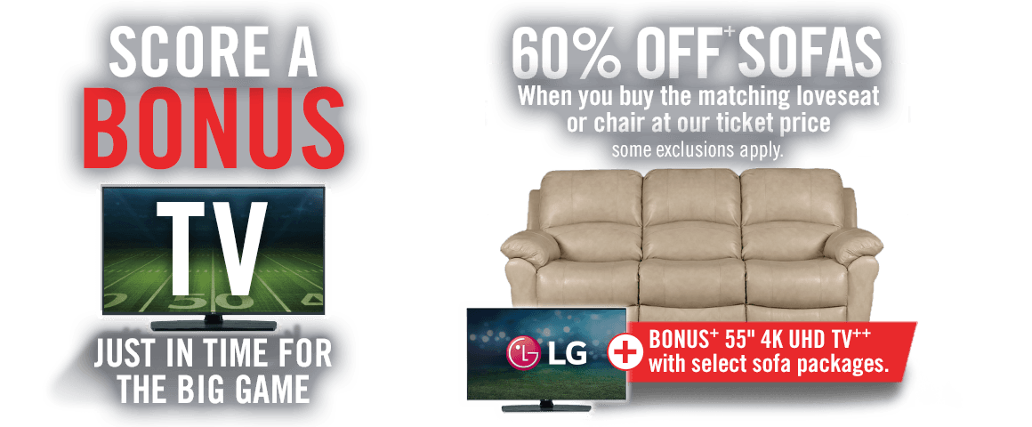Score a Bonus TV Just In Time For The Big Game