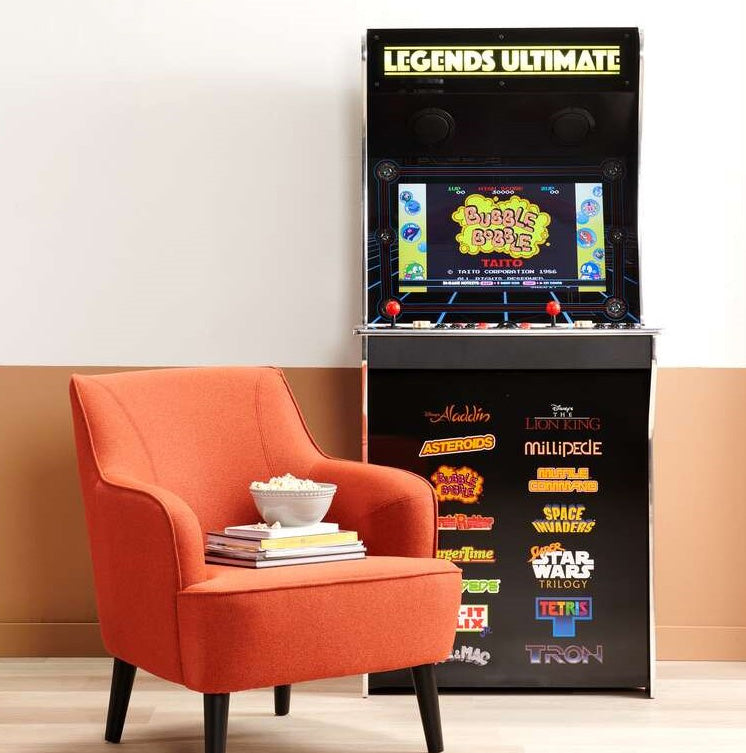 GAME CONSOLES, ARCADE CABINETS AND ACCESSORIES