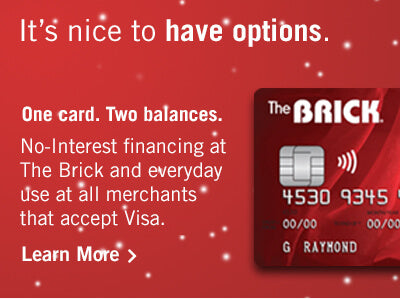 Brick Card financing