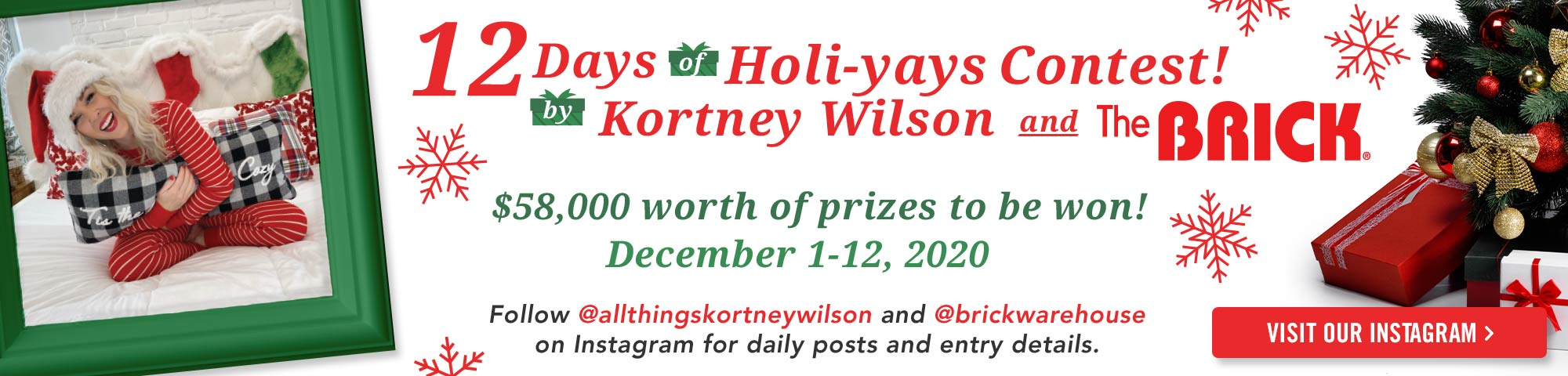 12 Days of Holi-yays with Kortney Wilson