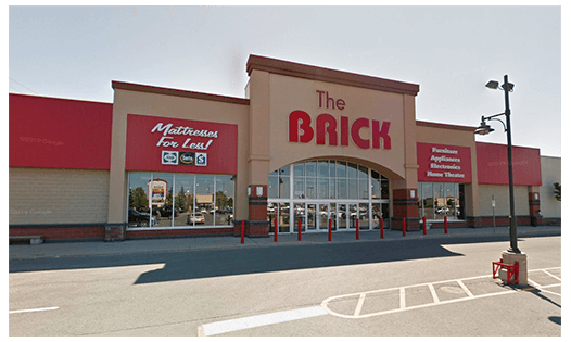 The Brick  Kingston Location
