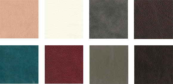 Abbyson leather samples