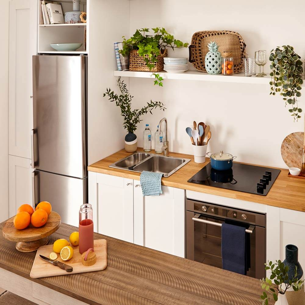 Beach House Bliss small space kitchen