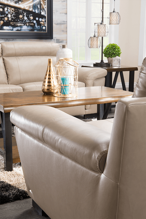 Cindy Crawford Home leather furniture