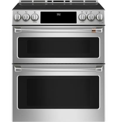 Café Slide-In Double Oven Electric Range with Convection - CCHS950P2MS1|Cuisinière électrique encastrée Café à double four et à convection - CCHS950P2MS1|CCHS950S