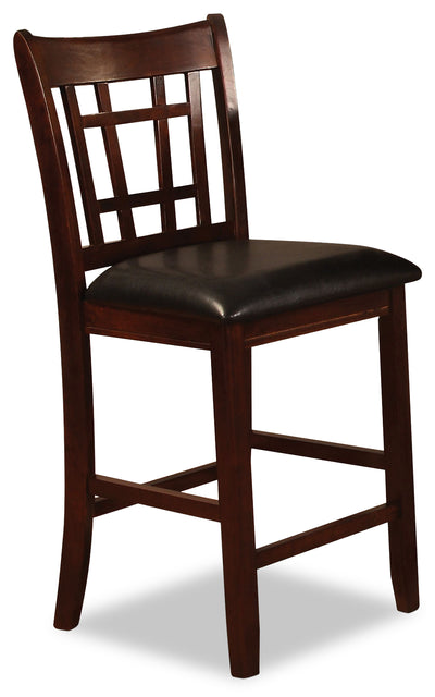 Dalton Chocolate Counter-Height Chair - Contemporary style Dining Chair in Chocolate