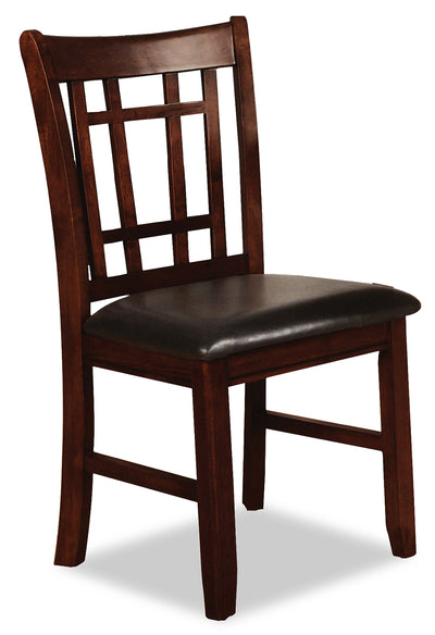 Dalton Chocolate Side Chair - Contemporary style Dining Chair in Chocolate