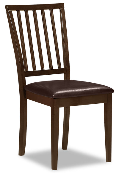 Dakota Side Chair - Country style Dining Chair in Dark Cherry