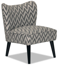 Designed2B Fabric Curved Back Low-Profile Accent Chair - Ocean