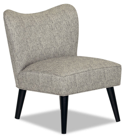 Designed2B Fabric Curved Back Low-Profile Accent Chair - Spa - {Retro}, {Modern} style Chair in Spa {Solid Hardwoods}