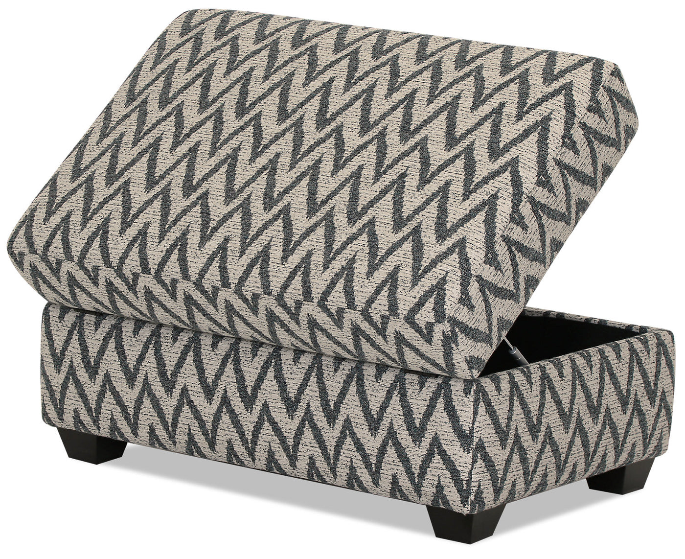 Swell Designed2B Fabric Rectangular Storage Accent Ottoman Ocean Ocoug Best Dining Table And Chair Ideas Images Ocougorg