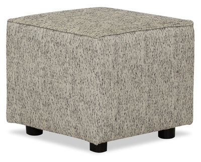 Designed2B Fabric Pod Accent Ottoman - Spa - {Contemporary} style Ottoman in Spa {Solid Hardwoods}