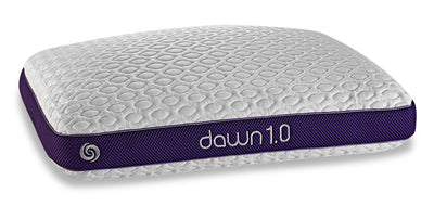 Bedgear Circadian 1.0 Pillow - Dawn Stomach Sleeper|Oreiller CircadianMD 1.0 de BedgearMC - série Dawn pour dormeurs sur le ventre|1DAWNSQL