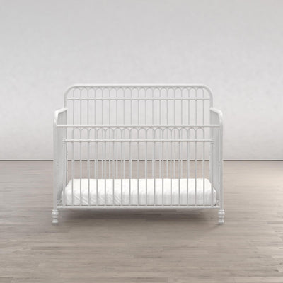 Little Seeds Ivy 3-in-1 Convertible Metal Crib - Dove Grey |  Lit de bébé Ivy Little Seeds convertible 3 en 1 en métal  |  D25BET4P
