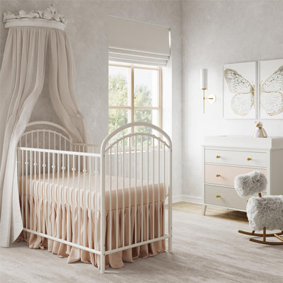 Little Seeds Aerin Metal Crib |  Lit de bébé Aerin Little Seeds en métal  |  D25U3FC9