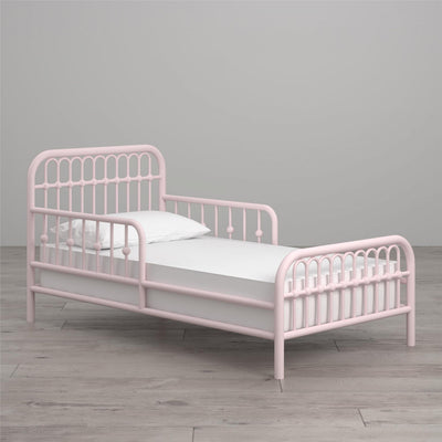 Monarch Hill Ivy Metal Toddler Bed - Graphite Grey |  Lit de bambin Ivy Monarch Hill en métal - rose   |  D26JSEAF