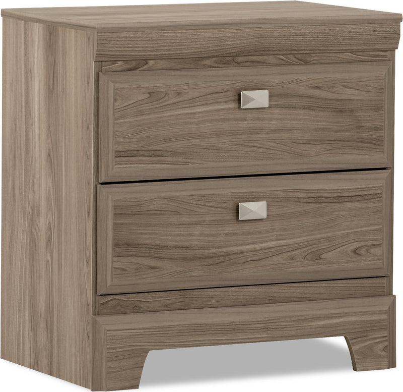 Yorkdale Light Nightstand|Table de nuit Yorkdale - claire|268-NS