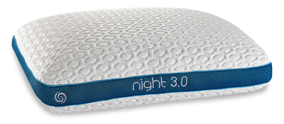 Bedgear Circadian 3.0 Pillow - Night Side Sleeper|Oreiller CircadianMD 3.0 de BedgearMC - série Night pour dormeurs sur le dos|3NGHTMQL