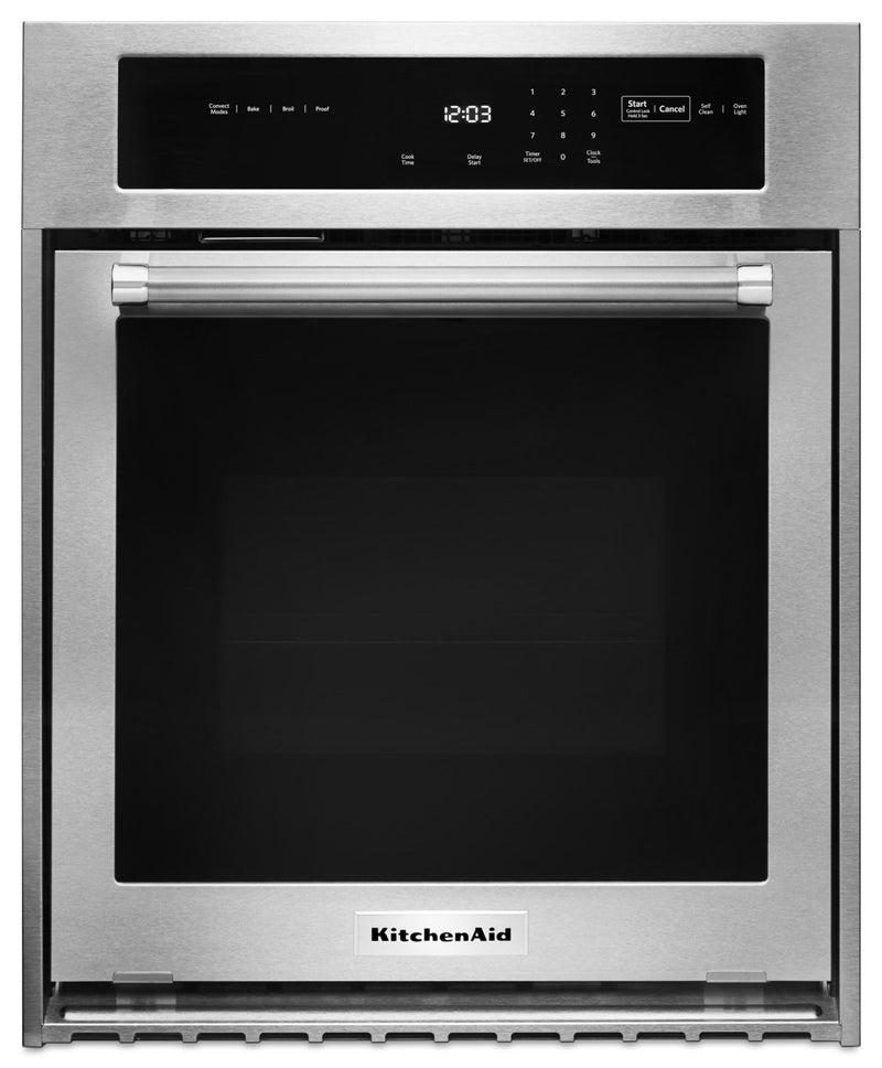 KitchenAid 3.1 Cu. Ft. Single Wall Oven – KOSC504ESS|Four mural simple de 3.1 pi3 KitchenAid – KOSC504ESS