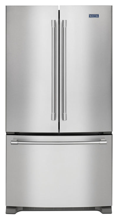 Maytag 20. Cu. Ft. French-Door Refrigerator – MFC2062FEZ - Refrigerator in Stainless Steel