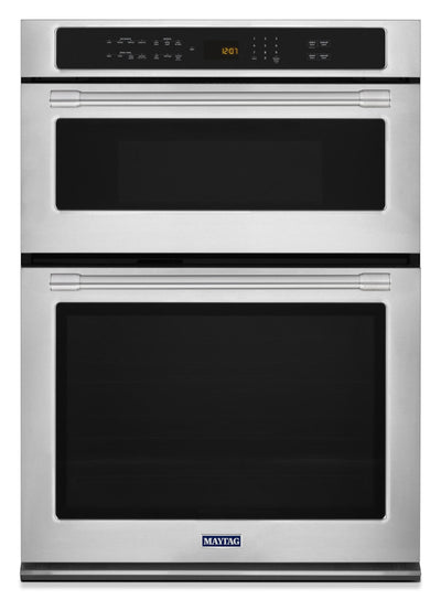 Maytag 6.4 Cu. Ft. Combination Wall Oven – MMW9730FZ - Double Wall Oven in Stainless Steel