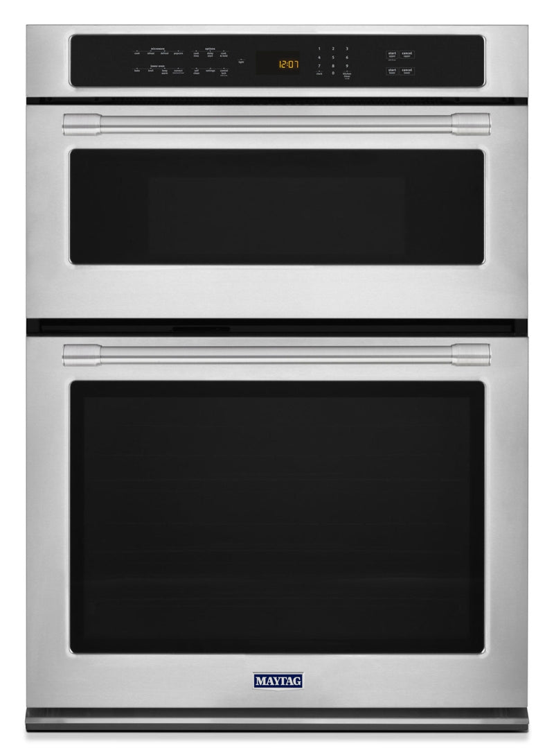 Maytag 6.4 Cu. Ft. Combination Wall Oven – MMW9730FZ|Four  mural combiné 6.4 pi3 Maytag – MMW9730FZ