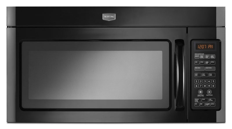 Maytag 2.0 Cu. Ft. Over-the-Range Microwave with Interior Cooking Rack – YMMV4206FB|Four à micro-ondes à hotte intégrée Maytag de 2,0 pi³ avec grille de cuisson interne - YMMV4206FB