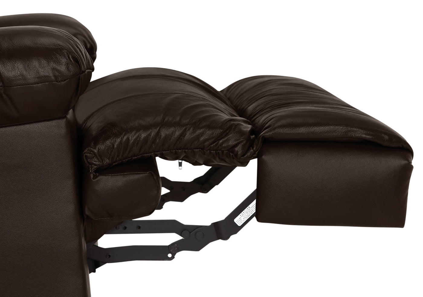 Designed2b 5598 Genuine Leather Rocker Recliner With