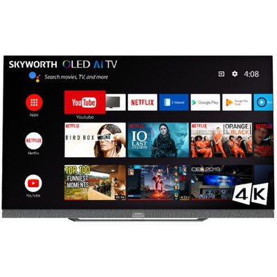 Skyworth S9A 55″ 4K HDR OLED Android Smart Television - 55S9A | Téléviseur DELO Android Skyworth  S9A UHD 4K de 65 po - 55S9A | 55S9A000