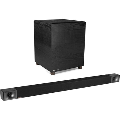 Klipsch 3.1 Channel 440 W Soundbar and Wireless Subwoofer - BAR48|Barre de son de 440 W à 3.1 canaux et caisson d'extrêmes graves sans fil de Klipsch - BAR48|BAR48BAR