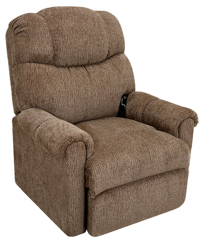 624 Chenille Power-Lift Recliner - Brown - {Contemporary} style Chair in Brown {Plywood}, {Solid Woods}