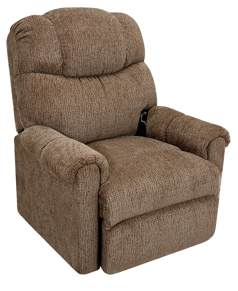 624 Chenille Power-Lift Recliner - Brown|Fauteuil basculeur à inclinaison électrique 624 en chenille - brun