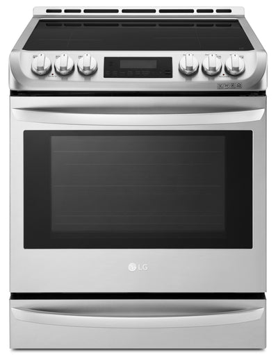 LG 6.3 Cu. Ft. Induction Slide-In Range with ProBake Convection and EasyClean – LSE4617ST