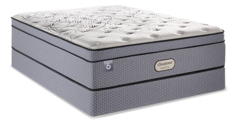 Beautyrest Hotel 6 Eurotop Queen Mattress Set|Ensemble matelas à Euro-plateau BeautyRestMD Hotel 6 pour grand lit
