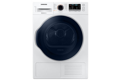 Samsung 4.0 Cu. Ft. Electric Heat Pump Dryer - DV22N6800HW/AC - Dryer in White