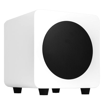"Kanto Living Subwoofer - Kanto SUB8 8"" 250 W Powered Subwoofer - Matte White"