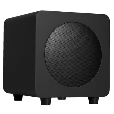 "Kanto Living Subwoofer - Kanto SUB8 8"" 250 W Powered Subwoofer - Matte Black"