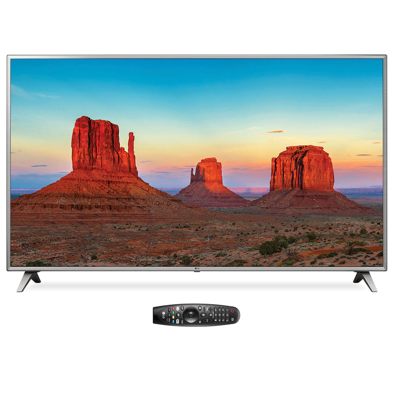 "LG 86"" UK6570 4K UHD Smart Television with Magic Remote