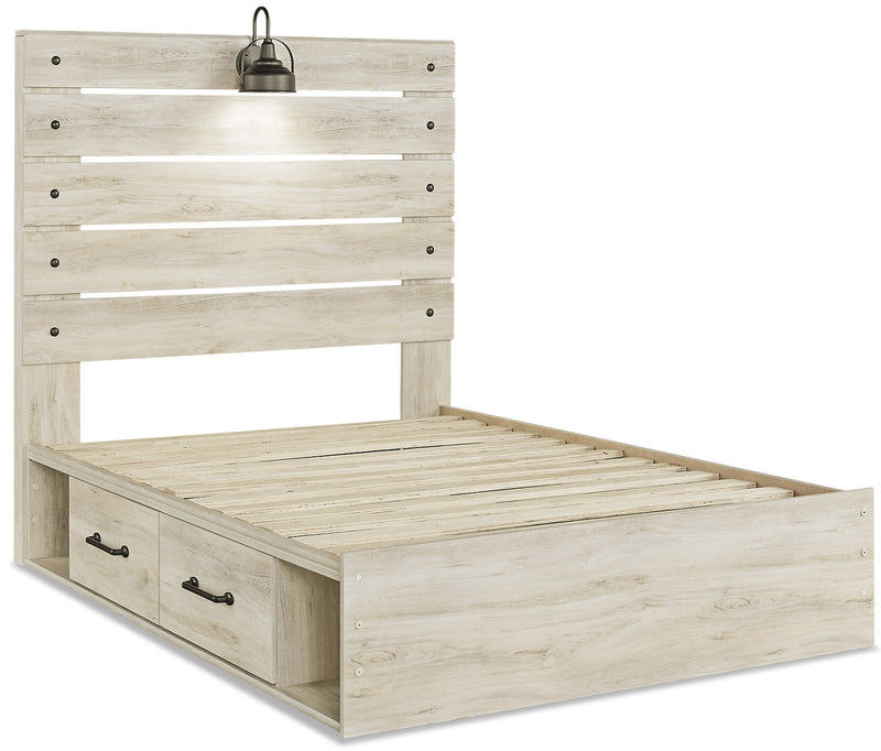 Abby Full Side Storage Bed