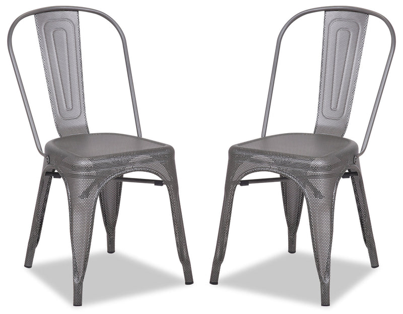 Abby Dining Chair, Set of 2|Chaise de salle à manger Abby, ensemble de 2|ABBYMDSP