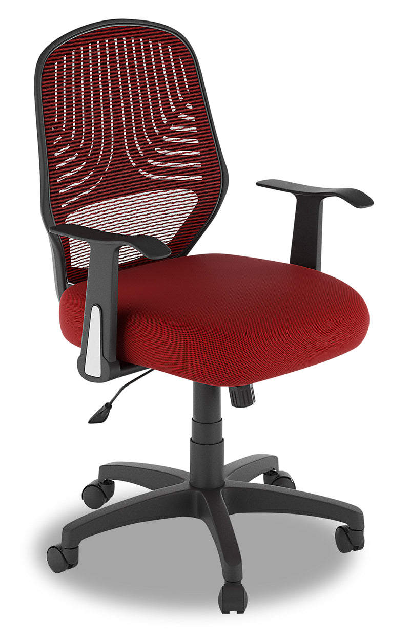Aden Adjustable Chair - Red|Chaise réglable Aden - rouge