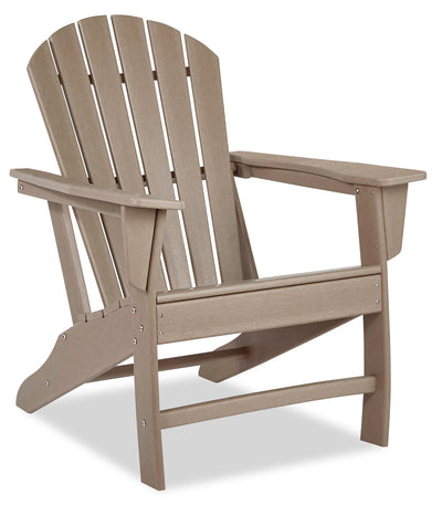 Adirondack Patio Chair – Grey-Brown|Chaise Adirondack pour la terrasse - gris-brun