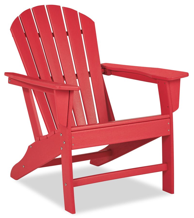 Adirondack Patio Chair - Red|Chaise Adirondack pour la terrasse - rouge