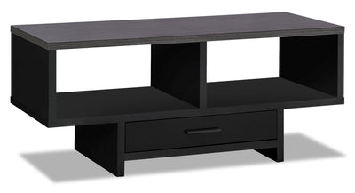 Alexis Coffee Table - Black and White