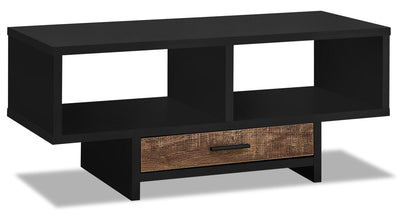 Alexis Coffee Table - Black and Brown|Table à café Alexis - noire et brune|ALEBRCTB