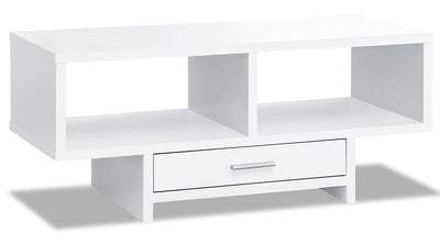 Alexis Coffee Table - White|Table à café Alexis - blanche|ALEWHCTB